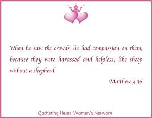 Matthew 9:36