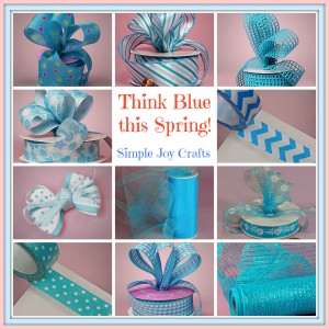 Blue Craft Collage